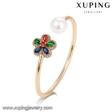 51738 xuping Wholesale women jewelry, fashion colorful pearl bangle