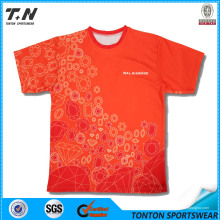 Heiße verkaufende kundenspezifische volle Druck-Golf-T-Shirts