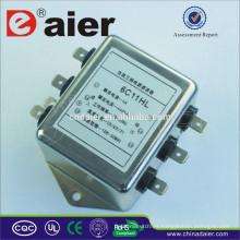 Inicio Bajo voltaje residual Filtro monofásico de ruido emi rfi