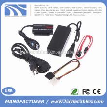 """Adaptateur USB3.0 à IDE / SATA pour disque dur de 2,5 """"/ 3,5"""" avec OTB"""