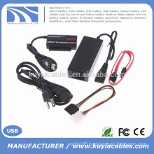 "USB3.0 to IDE/SATA Converter Adapter for 2.5""/3.5""HDD with OTB"
