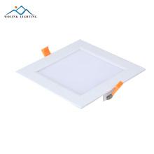 Ip55 перезаряжаемые аварийные стандартные размеры квадратные светодиодные панели свет 6 Вт