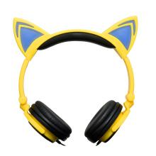 Auriculares vendedores calientes del oído de gato de la iluminación de los regalos de vacaciones