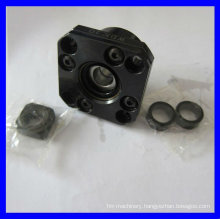Precision flange style ball screw support unit FK10