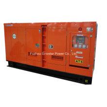 Générateur diesel insonorisé 90kVA 72kw avec moteur refroidi par eau Deutz