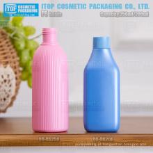 200-250ml bonito redondo / retangular cor personalizável cosméticos domésticos 24/410 24/415 garrafa vazia de plástico PEAD