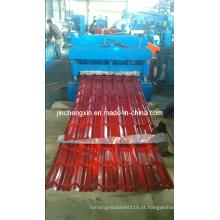 Máquina formadora de rolo de painel de telhado de metal usado de bom preço