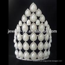 Venda Por Atacado alta qualidade pérola tiaras pérola casamento tiara