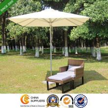 6 Feet Aluminium Patio Umbrella for Outdoor Garden (PU-2020A)