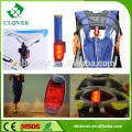 Matériau ABS feu arrière 3 led lumière vélo