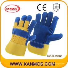Genuine Industrial Safety Cow Split Leather Work Gloves (11010)