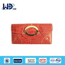 Factory price fashion leather women purse