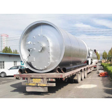 latest used tyre pyrolysis to oil plant