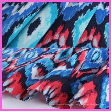 2016 mayorista de textiles de poliéster rayón Spandex de tela para corte y confección
