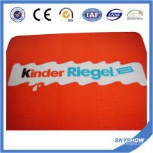 Manta impresa poliéster de alta calidad de la fábrica de China Super Súper