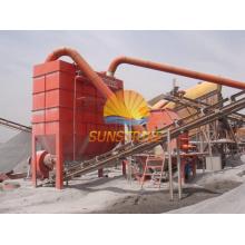 Sitio de fabricación de arena / línea de trituración de piedra con alta reputación