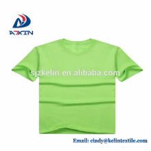 Impresión de pantalla 100% algodón transpirable personalizada camisetas impresas