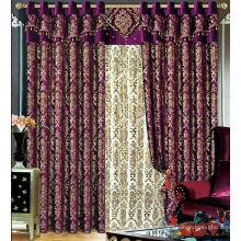 Os mais recentes desenhos de cortina 2015 e venda quente cortina de tecido de design elegante e elegante