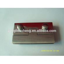 Producing finely processed different style metal bag twist lock