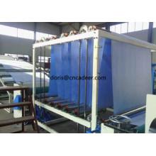 Blaue homogene PVC-Geomembran für Schwimmbäder