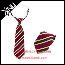 Dry-clean Only Poliéster Jacquard tejido más barato corbata de los niños