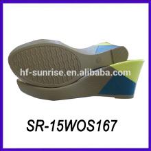 Señora mujer zapato zapato único zapato material cuña