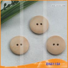 Boutons en bois naturel pour vêtement BN8115