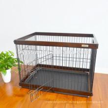 Caja de madera para mascotas, madera, casa para mascotas y perrera para la venta