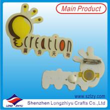 Custom Logo LED Lapel Pin