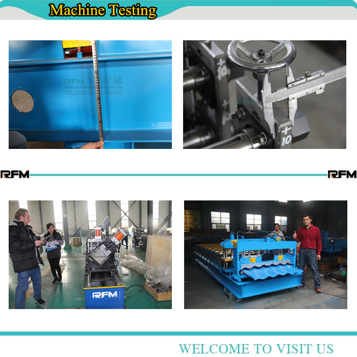 Double layer metal steel roof roll forming machine