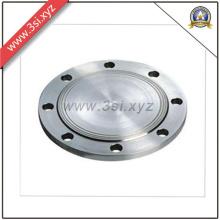 Flange cega de aço inoxidável para válvulas (YZF-151)