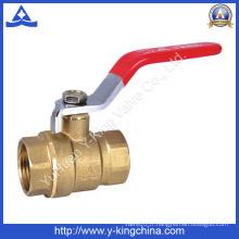 Soupape à bille en laiton à basse pression (YD-1008)