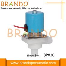 Électrovanne d'eau potable en plastique basse pression 24V