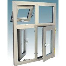 Fenêtre horizontale vers l'intérieur et vers l'extérieur inclinable (fenêtre auvent)