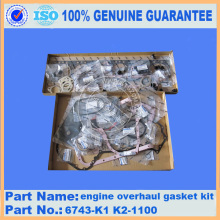 Gasket kit cylinder head 6743-K1-1100 for PC300-7 engine