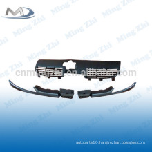 Front grille complete for Peugeot 206