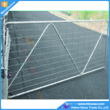 Ranch metal tube fencing farm gate/ galvanized iron field gate