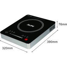 2017 Electrodoméstico de Cocina de Vidrio Colorido 1800 W ETL 120 V 60 Hz Sensor de Vivienda de Acero Inoxidable Sensor de Control de Inducción Cooktop Cooktop