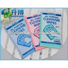 Essoufflement de nettoyage non tissé spunlace