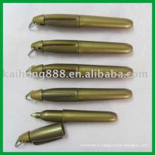 Marqueur stylo avec des couleurs métalliques