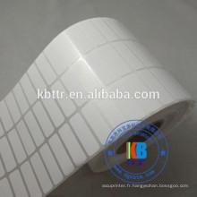 Code à barres autocollant étiquette transfert thermique étiquette papier thermique direct