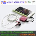 Mini-Verstärker Kopfhörerverstärker Akku-Verstärker