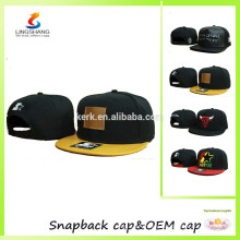 Small order hats with competitive price flat caps baseball hats snapback caps custom