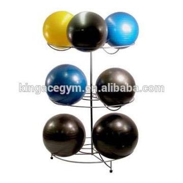 Anti-burst Gymball rack