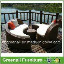Outdoor Wicker Sun Lounge Möbel für Garten
