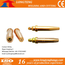 Copper Cutting Nozzles Cutting Tips for CNC Cutting Torch
