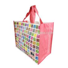 PP прокатали продуктовый складная хозяйственная сумка