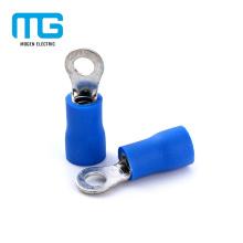 Easy Enter Small Blue Cooper Terminales con anillo aislado