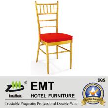 Banquete de empilhamento de metal Chiavari Chair for Wedding & Hotel Furniture (EMT-809-1)