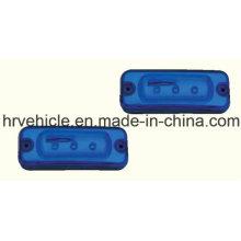 Marcador Lateral Azul LED e Lâmpada de Apuramento